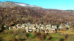 View of the village of Dorres